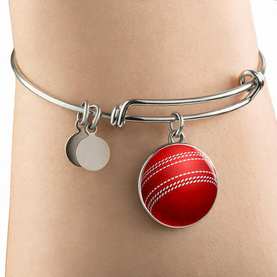 lottierocks:CricketBall 3D Circle Pendant Bangle