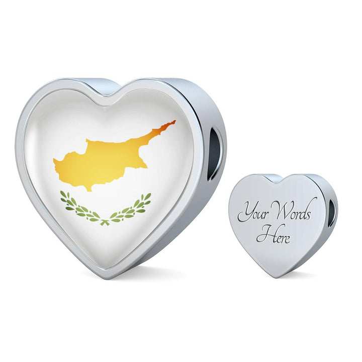 lottierocks:Cyprus Flag Heart Charm