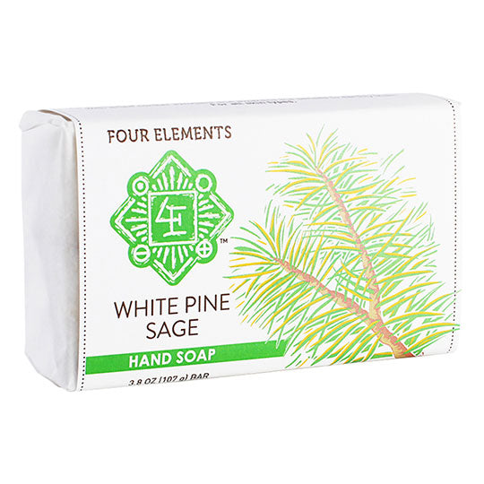 Four Elements Herbals White Pine Sage Soap 3.8 oz. - 231364