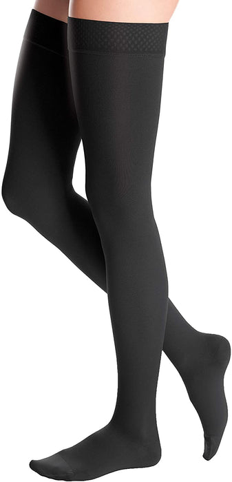 20-30 DUOMED ADV THIGH CT BLACK XL - AT24254
