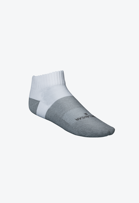 Active Socks, Low Cut, White, L - A103