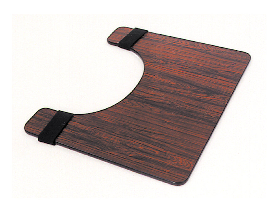 Deluxe Wheelchair Tray - Rosewood