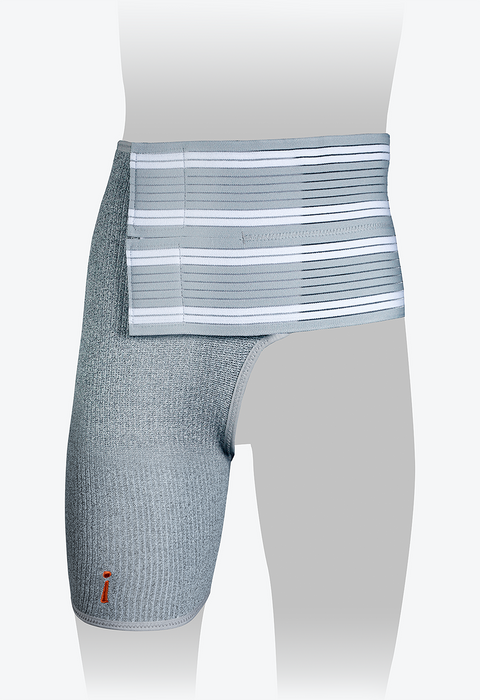 Hip Brace, Grey, Right, XXL, 29-31in - HIP105R