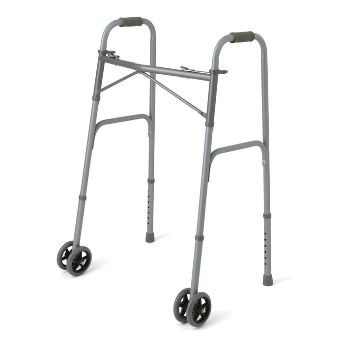 Basic Adult Walker with Bariatric Wheels