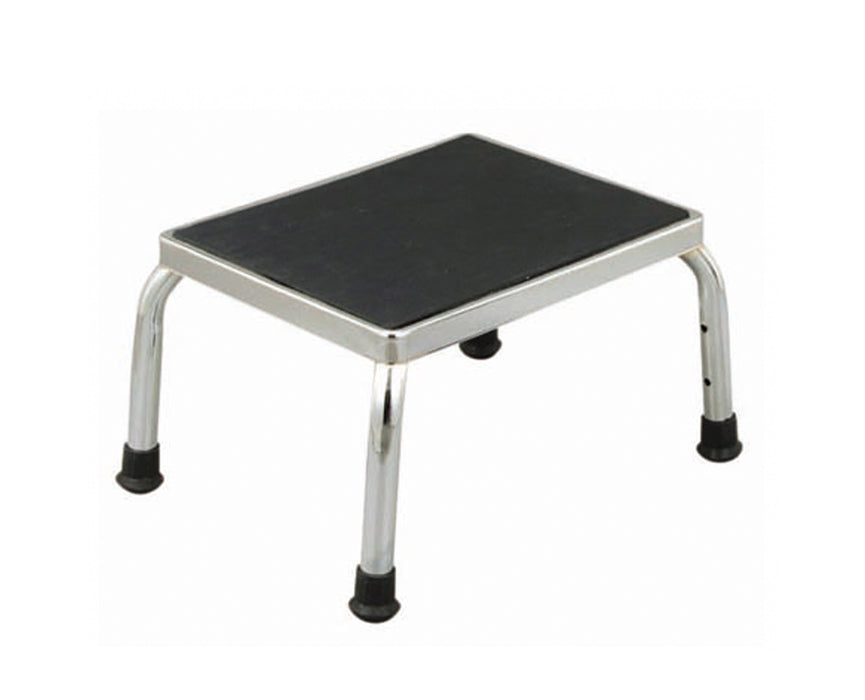 Chrome Plated Stool with Non-Slip Surface