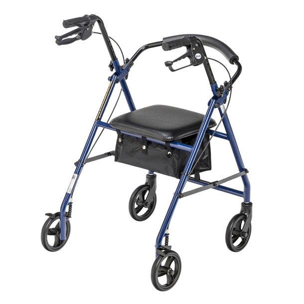 "Rollator With 6"" Wheels Blue"