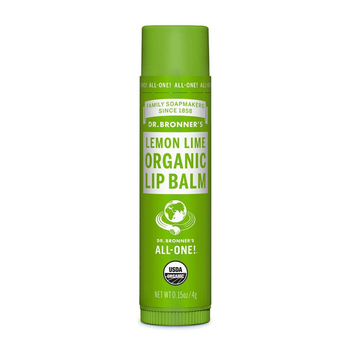 Dr. Bronner's Organic Lemon Lime Lip Balm 0.15oz - 217955