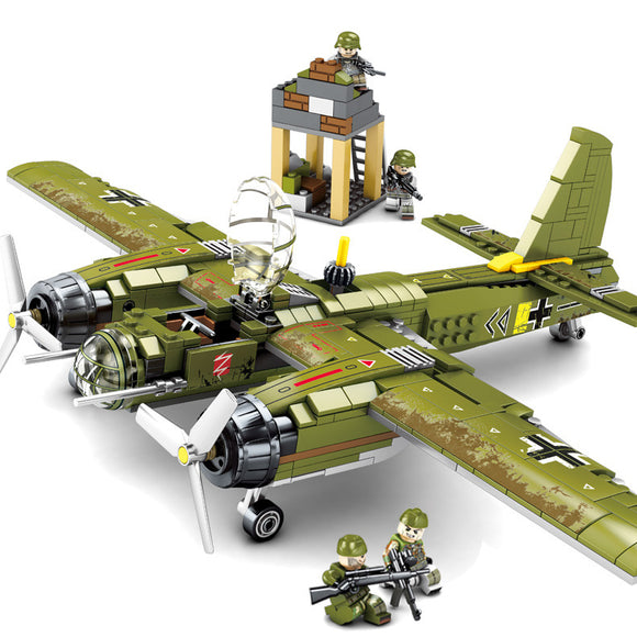 Iron Empire Custom Modern Military Army Airplane Fighter Building Blocks Set