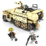 Iron Empire Custom WW2 German SD.KFZ.251 Armored Truck Building Blocks Set