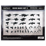 Koolfigure Basic Guns & Weapons Set 4