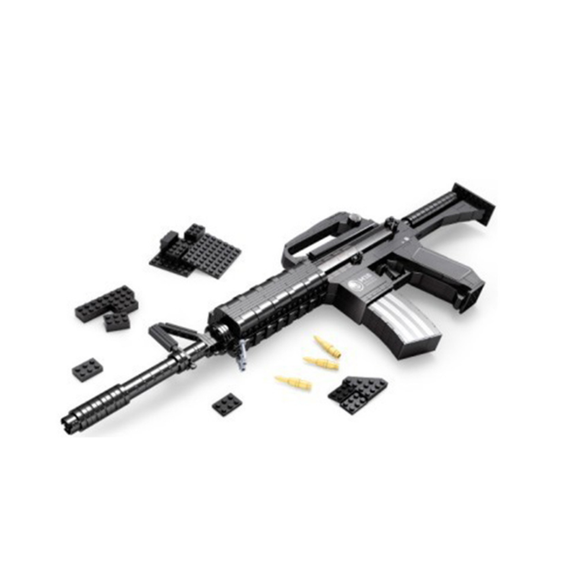 Ausini Guns Building Bricks Set, Famous Top Gun Collection The Automatic Rifle 22607 (524PCS)