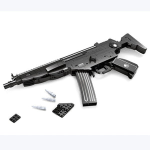 Ausini Guns Building Bricks Set, Famous Top Gun Collection The MP5 Assaut Rifle 22705 (597PCS)