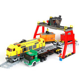 Ausini Classic Train & Truck Working Station Building Bricks Set, 25004 (791PCS)