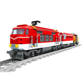 Ausini Classic Train & Tracks Building Bricks Set, 25807 (588PCS)