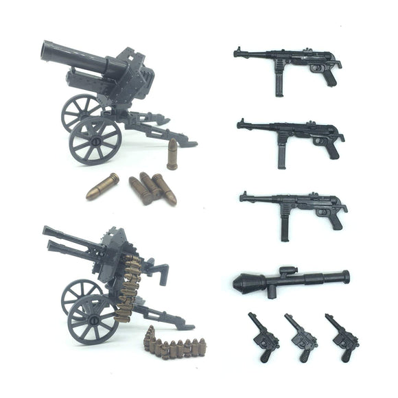 Koolfigure Artillery Weapon Set 6