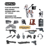 Koolfigure German Army Accessories Set 1 with 2 Random Figures