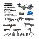 Koolfigure Modern Army Accessories Set 1 with 2 Random Figures