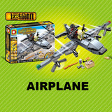 Custom PUBG Military Trucks Airplane & Jeep Building Bricks Set
