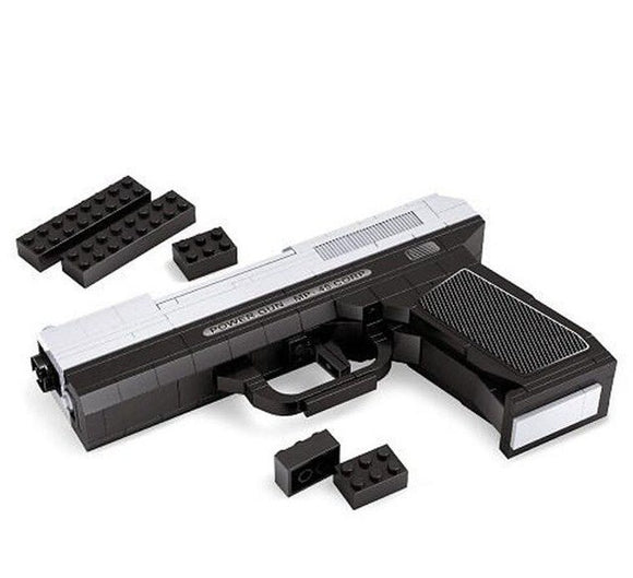 Ausini Guns Building Bricks Set, Famous Top Gun Collection The Pistol MP-45 Corp 22510 (268PCS)