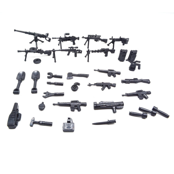 Koolfigure Basic Guns & Weapons Set 2