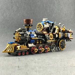 Cool Vintage Steam Era Series Railway Train Building Blocks Set (543PCS)