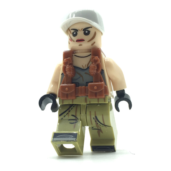 Custom Military Minifigure The Wolf Army 1PCS