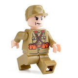 Custom Military Minifigure WW2 The Japanese Soldier 1PCS