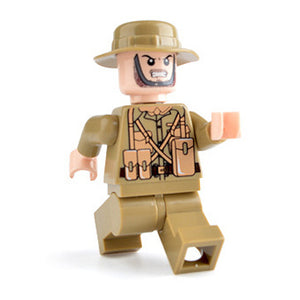 Custom Military Minifigure WW2 The British Soldier 1PCS