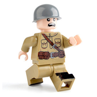 Custom Military Minifigure WW2 The Russian Soldier 1PCS