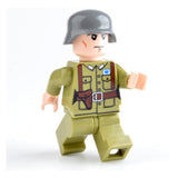 Custom Military Minifigure WW2 The Chinese Soldier 1PCS