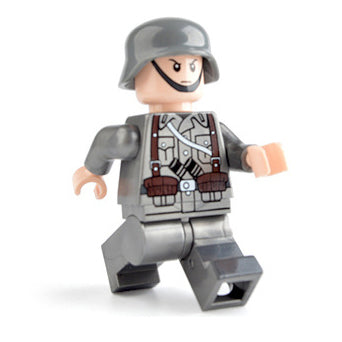 Custom Military Minifigure WW2 The German Soldier 1PCS