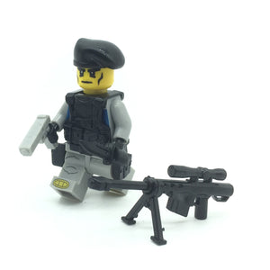 Custom Military Minifigure The Ghost Commando Troop 1PCS