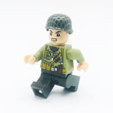 Custom Military Minifigure WW2 The US Army Soldier 1PCS