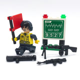 Custom Military Minifigure Modern Army 1PCS