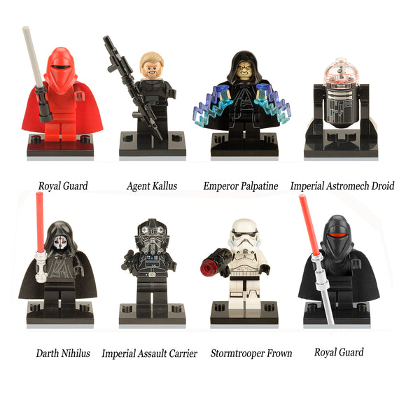 iiiax Custom Star Wars Mini Size Figurines Set 0105