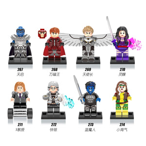 iiiax Custom Super Heroes Mini Size Figurines Set 0115