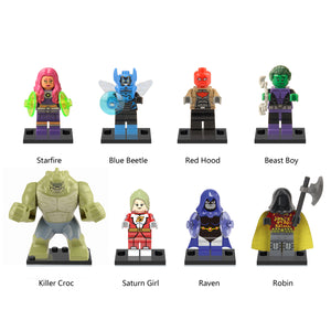 iiiax Custom Super Heroes Mini Size Figurines Set 0126