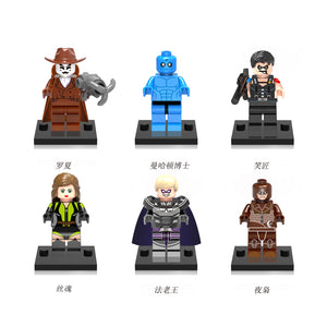 iiiax Custom Super Heroes Mini Size Figurines Set 0131