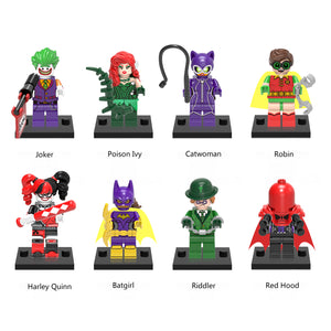 iiiax Custom Super Heroes Mini Size Figurines Set 0152