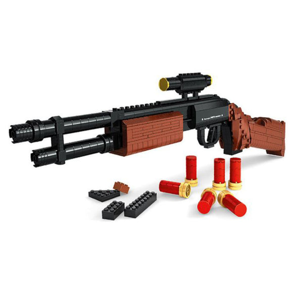 Ausini Guns Building Bricks Set, Famous Top Gun Collection The M870 Shotgun 22804 (527PCS)