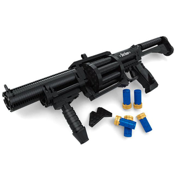 Ausini Guns Building Bricks Set, Famous Top Gun Collection The Armsel Striker 22709 (373PCS)