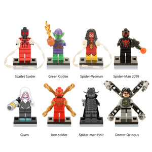 iiiax Custom Super Heroes Mini Size Figurines Set 0107