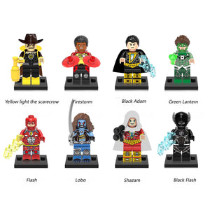 iiiax Custom Super Heroes Mini Size Figurines Set 0153