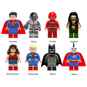 iiiax Custom Super Heroes Mini Size Figurines Set 0167