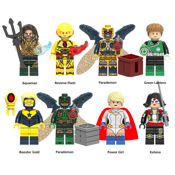 iiiax Custom Super Heroes Mini Size Figurines Set 0177