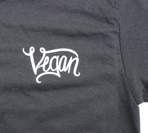 Plain Ol' Vegan in Black