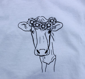 Cow in White