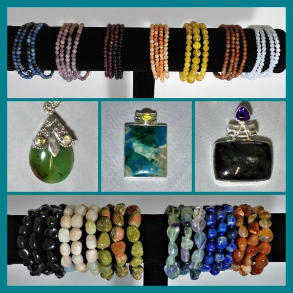 New Gemstone Jewelry & Products, Earth Day, Auras, Reiki & More!