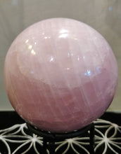 Rose Quartz Sphere #51 - Ruby Dragon