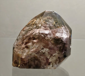 Lodolite Standing Point - Ruby Dragon